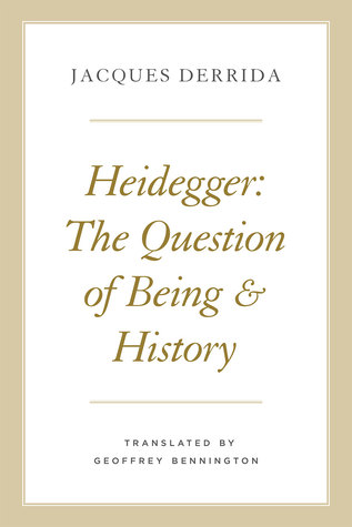 Heidegger: The Question of Being and History