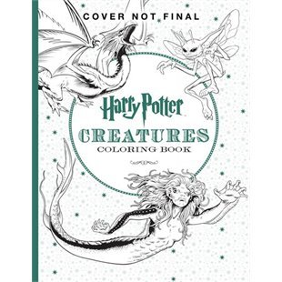 Harry Potter: The Official Coloring Book #2 Creatures