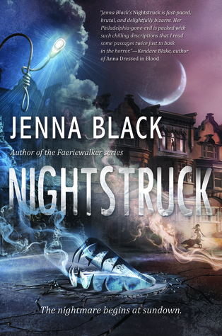 Nightstruck by Jenna Black  book cover