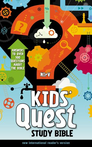 NIrV, Kids' Quest Study Bible, Hardcover: Answers to over 500 Questions about the Bible