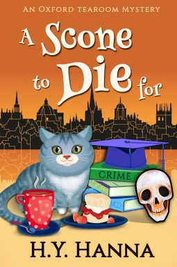 A Scone to Die For (Oxford Tearoom Mysteries, # 1)