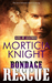 Bondage Rescue (Kiss of Leather, #3) by Morticia Knight