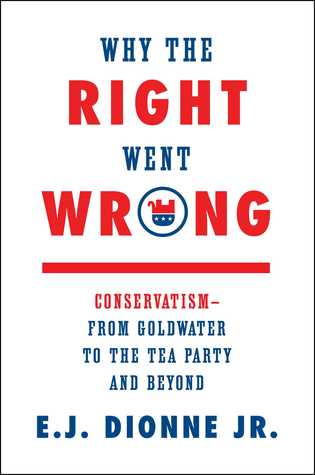 Why the Right Went Wrong by E.J. Dionne Jr.