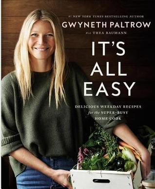 Cooking author Gwyneth Paltrow