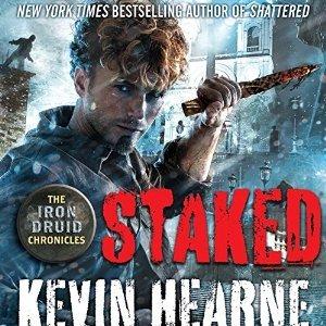 Audiobook Review: Staked by Kevin Hearne (@KevinHearne, @luckylukeekul, @PRHAudio)