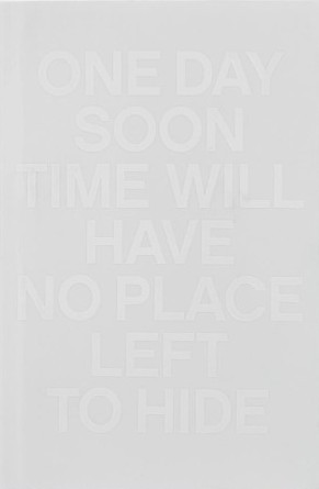 One Day Soon Time Will Have No Place Left To Hide by Christian Kiefer: Outlandish Lit's Book Review