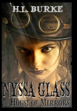 Cover - Nyssa Glass and the House of Mirrors