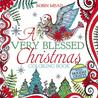 A Very Blessed Christmas Coloring Book by Robin Mead