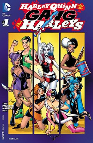 Harley Quinn & Her Gang of Harleys (2016-) #1