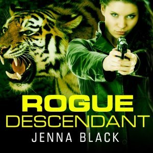 Audiobook Review: Rogue Descendant by Jenna Black (@mlsimmons, @jennablack, @sereads, @tantoraudio)