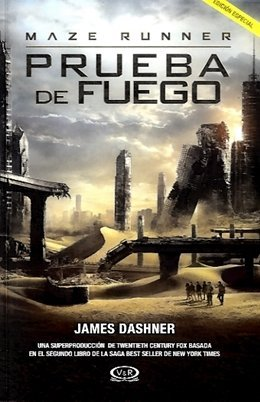 MAZE RUNNER PRUEBA DE FUEGO