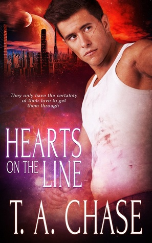Release Day Review: Hearts on the Line by T.A. Chase