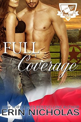 #Review: Full Coverage (Boys of Fall) by @ErinNicholas #contemporaryromance #favoriteauthor