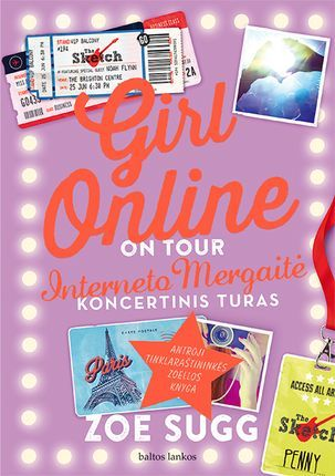 interneto mergaitė koncertinis turas