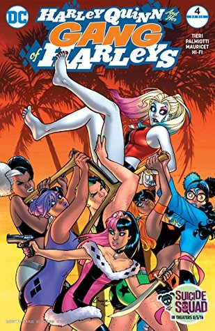 Harley Quinn and Her Gang of Harleys (2016-) #4