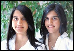 Sarena and Sasha Nanua