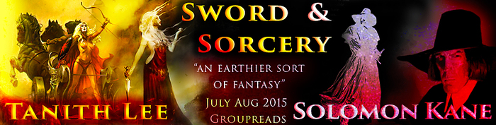 Tanith Lee and Solomon Kane groupread Banner
