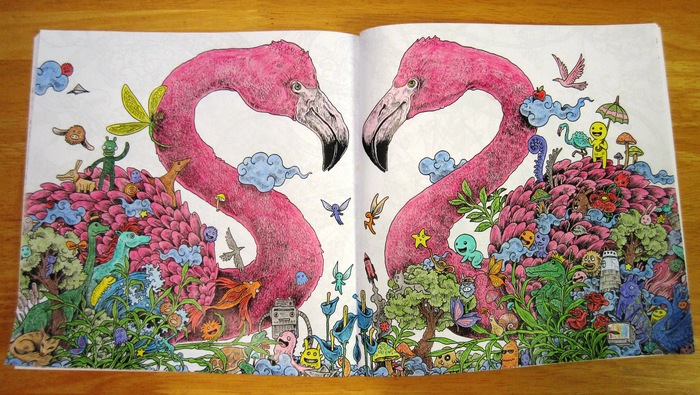 Animorphia An Extreme Colouring And Search Challenge By
