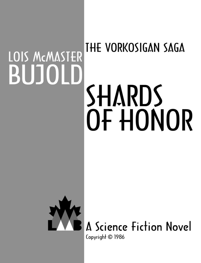 Shards of Honor front page